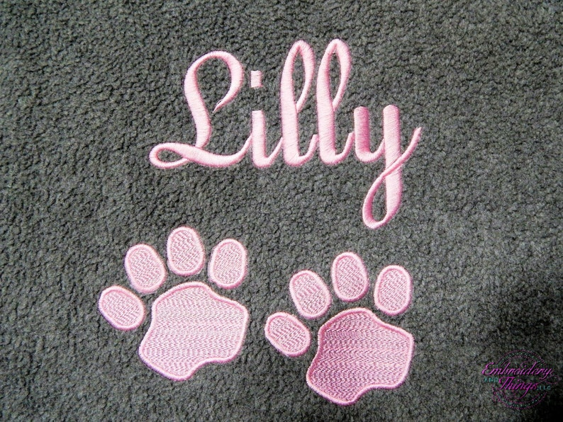 Dog Blanket Personalized Dog Blanket Puppy Blanket Dog image 0