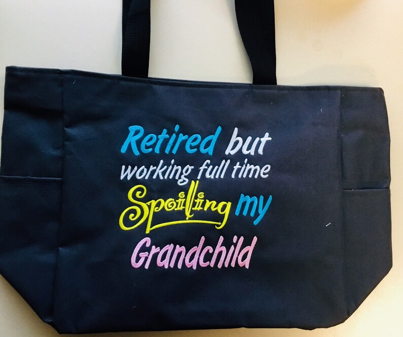 Gift for Retirement Many styles and sayings Grandma Tote bag Gift for new grandma