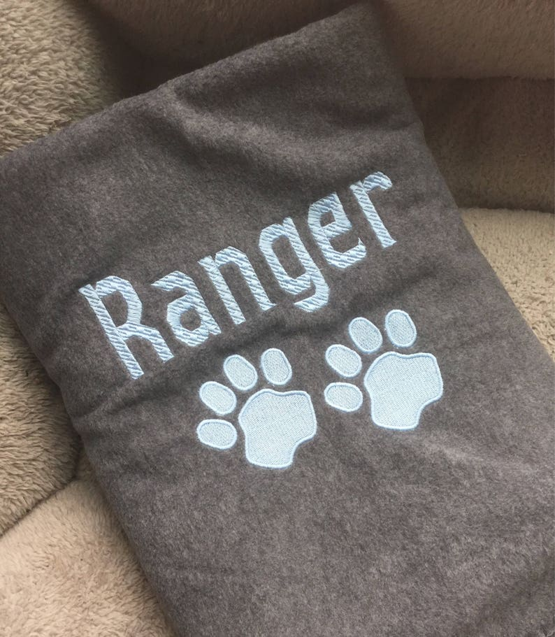 6f752f027d Dog Blanket Pet Blanket personalized with your pets name