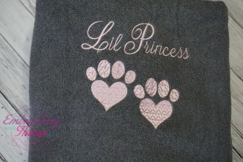 Large size for you and your pet to snuggle Personalized Dog or Cat Blankets or for large size dog