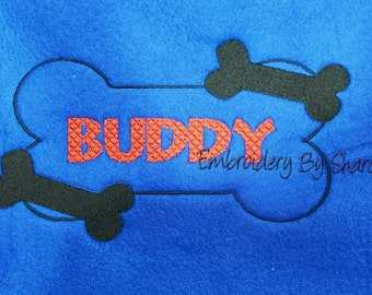 Personalized Large full size Dog  Blanket for your Pets and You to snuggle