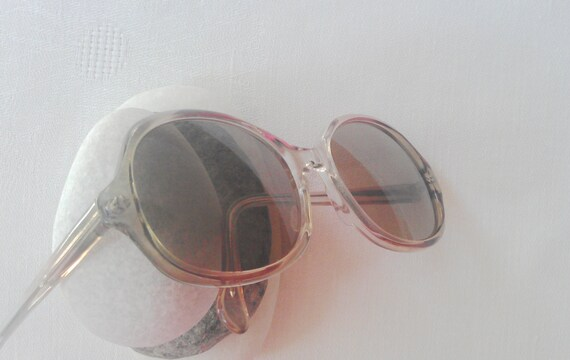 Vintage SunglassesNiGuRa SUNDREAM SunglassesClassic Design SunglassesAmber LensesGreen Coral Frame SunglassesEarly 80s Sunglasses