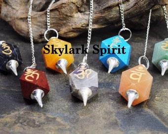 Chakra Pendulums: 7 total