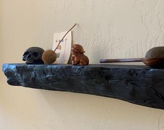Modern Rustic Floating Shelf #1