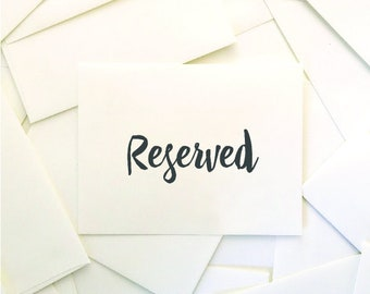 Reserved for Cindy (10) Rachel Suite Invites