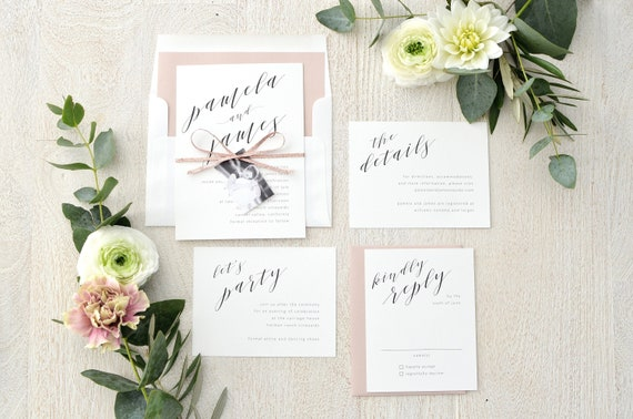 Pamela Suite Wedding Table Numbers chic and sophisticated calligraphy Modern yet timeless Table Number stylish