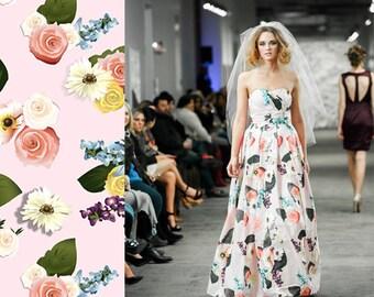 Lindsey: Custom Print Ballgown - ANYTHING on your dress