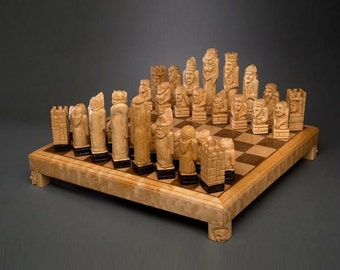 Medieval Character Chess Set