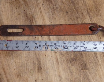 Red Hand Made Iron Latch
