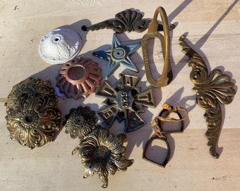 Antique Or Vintage Cast Metal Parts
