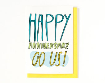 Happy Anniversary Card - I Love You Card - Funny Anniversary Card - Funny Love Card - Love Greeting Card - Funny Card - Anniversaries