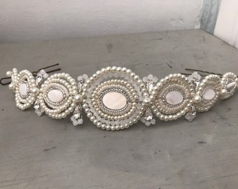Bridal hair vine - Bridal headpiece - wedding headpiece - Bridal hair chain - Gatsby - 1920s  -  Gatsby headdress - Bridal hair - wedding