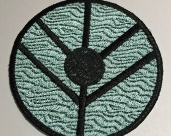Viking Shield Patch Perfect For Shieldmaiden Lagertha Cosplay 2 X Inch Size Hair Ornament Costume Or Jackets Bags Backpacks Iron On