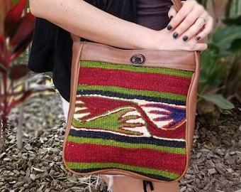 Vintage Crossbody Bags, Vintage Kilim Bag, Boho Crossbody Purse, Kilim Purses, Kilim Bags, Turkish Kilim Bag, Handmade Bag, Vintage Purse