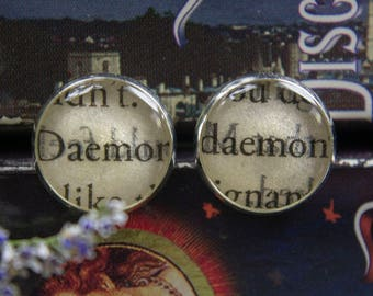 A Discovery Of Witches Book Earrings Book Jewelry All Souls Trilogy Book Earrings Book Jewelry Book Club Gifts Bookish Bibliophile