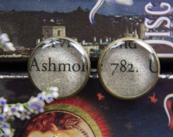 A Discovery Of Witches Book Jewelry Shadow Of Night All Souls Trilogy Book Earrings Book Jewelry Book Club Gifts Bookish Bibliophile
