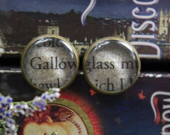 A Discovery Of Witches Book Earrings Book Jewelry All Souls Trilogy Book Earrings Book Jewelry Book Club Bookish Gifts Bibliophile