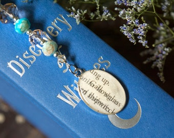 A Discovery Of Witches Bookmark Gallowglass Book Jewelry Jewelry Shadow Of Night All Souls Trilogy Book Club Gifts Bookish Gifts