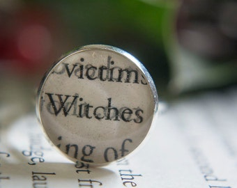 A Discovery Of Witches Book Jewelry Shadow Of Night All Souls Trilogy Book Ring Book Jewelry Book Club Gifts Bookish Gifts Bibliophile