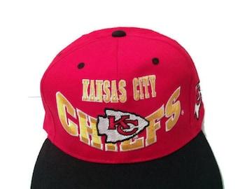 2fab02187b838 Vintage Kansas City Chiefs pre-1995 DEADSTOCK Hat