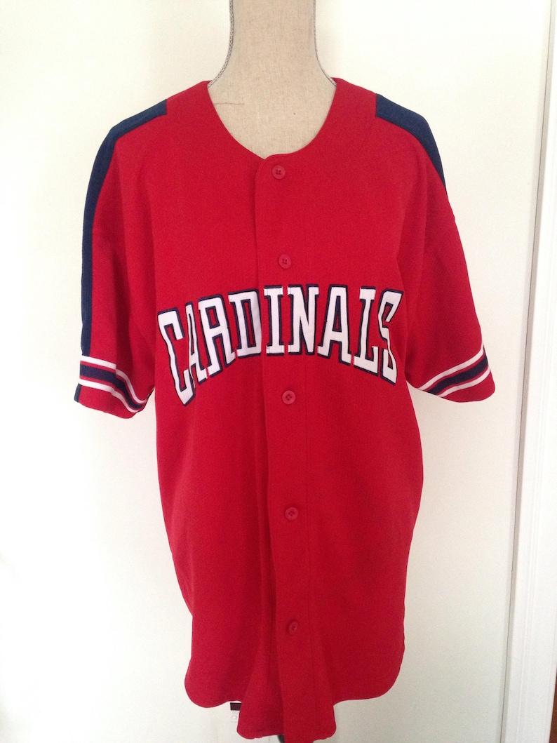 separation shoes c5730 b8ae8 Vintage St. Louis Cardinals Baseball Jersey
