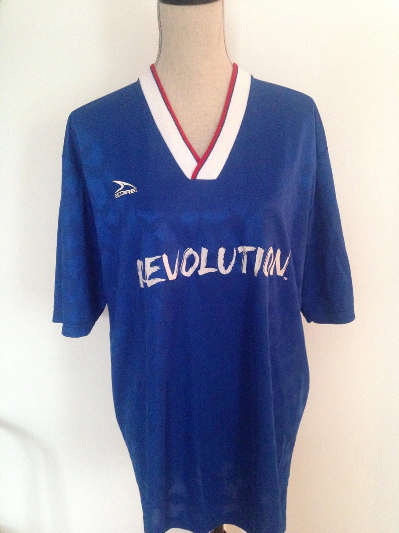 new products a17a1 d60db RARE: Vintage New England Revolution MLS 90s Jersey