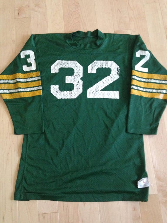 100% authentic c9cf6 ee0dc Vintage Green Bay Packers Jersey #32 70s/80s RARE