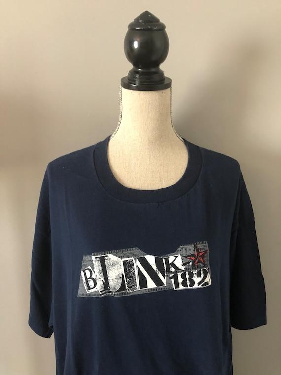 RARE! Vintage Blink 182 Punk Rock 90s Tshirt