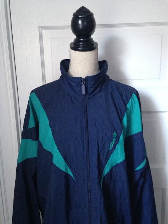 Vintage Adidas Neon 90s Jacket