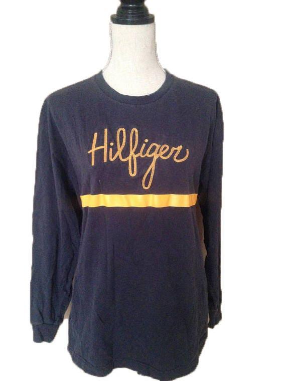 Vintage Tommy Hilfiger Longsleeve 90s T-shirt