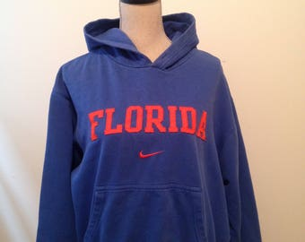 SALE 30% OFF- Vintage University of Florida Gators Nike 90s Hoodie