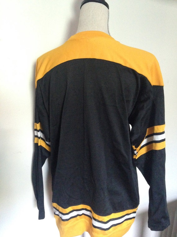 RARE Boston Bruins 80s Jersey  f00303145