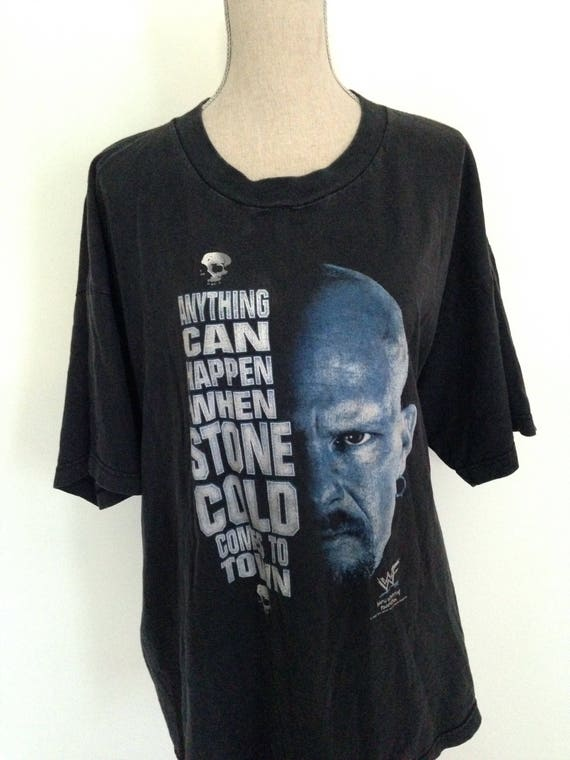 """Vintage Stone Cold Steve Austin """"Anything can happ"""