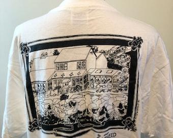 Vintage Ogunquit Maine Perkins Cove 1995 Tshirt