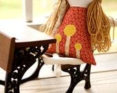 Rag Doll, Personalized Rag Doll, First Birthday Cloth Doll, Adelaide