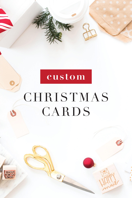 Custom Christmas Card Deposit | Etsy