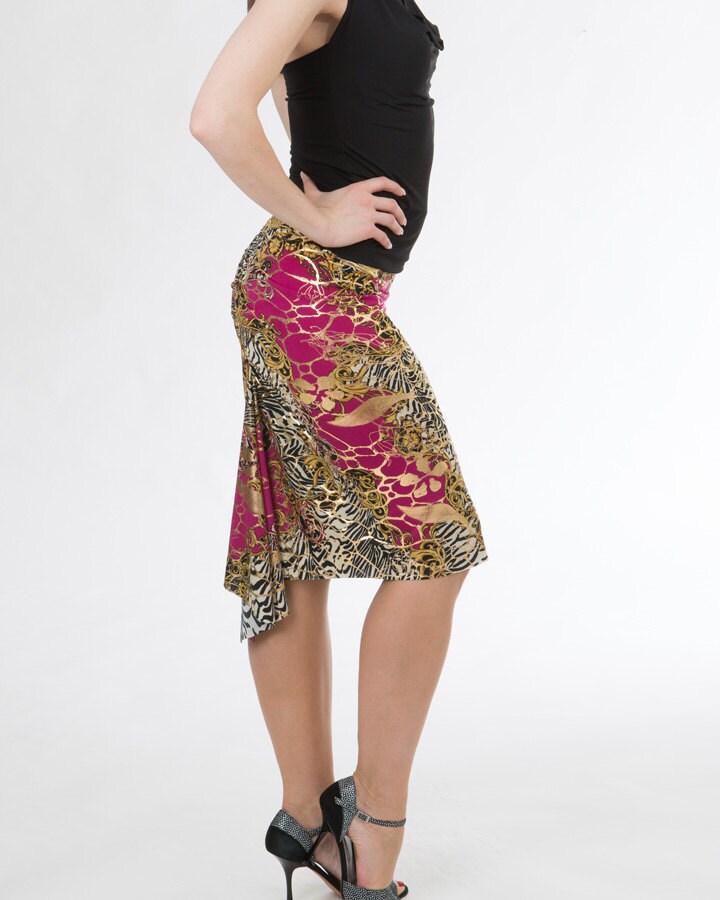 Tango Fishtail Skirt Argentine Tango Clothes Tango Skirts Etsy