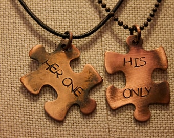 Copper Puzzle Necklace/Bracelet/Keyring - Jewelry that Konnects us.