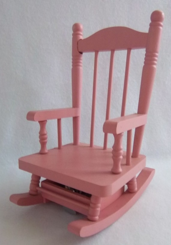 Rare: Pink Self Propelled Musical Rocking Chair Moving | Etsy