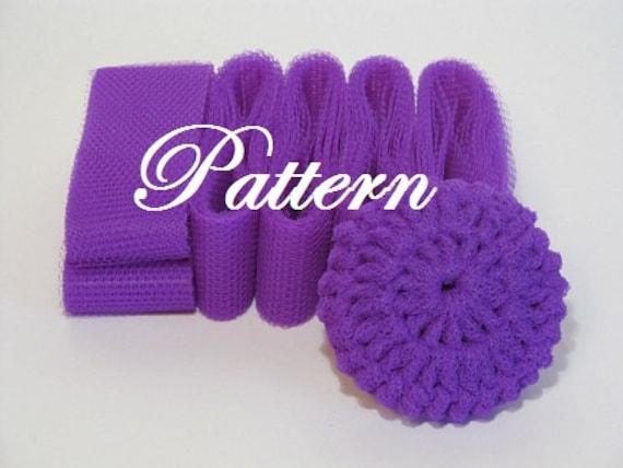 Scrubbie Pattern For Nylon Netting Dish Scrubbies Etsy