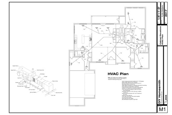 Hvac Drawing Plans