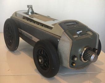 ROBO RACER, Found Object Art Sculpture By Ferdinand Metz