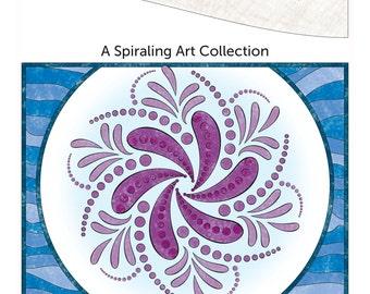 Break & Color January 2016 Spiraling Art