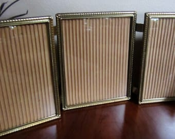 Tri Fold 8x10 Frame Etsy