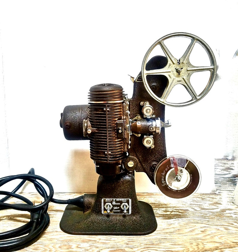 Early 8mm Movie Projector AS IS Antique 8MM Bell and Howell ...