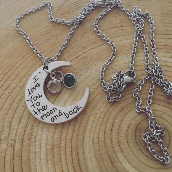 Charm Bracelet Message I Love You To The Moon Statement Costume Jewellery UK
