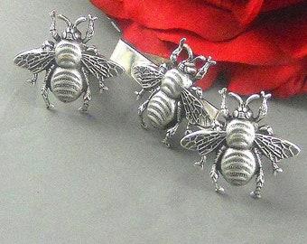 Bee Hive Cufflinks /& Tie Slide Clip Mens Bee Keeper Gift Set UK Pewter 029