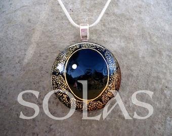 Dragon Eye Jewelry - Glass Pendant Necklace - Free Shipping - Style EYE17