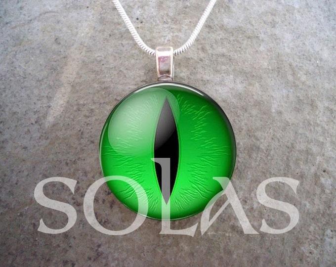 Dragon Eye Jewelry - Glass Pendant Necklace - Dragon Eye 2