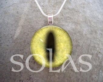 Dragon Eye Jewelry - Glass Pendant Necklace - Dragon Eye 37 - Free Shipping - Style EYE37